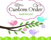 Custom Order for Kristen 2 dozen Toppers per our convo