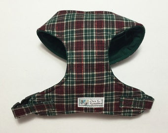Plaid Comfort Soft Dog Harness - Made to Order -