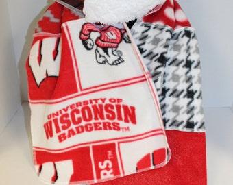 Wisconsin Fleece Scarf
