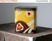 55% OFF Beautiful retro USSR tin canister, made in Soviet Union, 60s