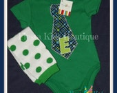 Baby bodysuit with tie, Lil Man outfit, infant, creeper, toddler boy outfit