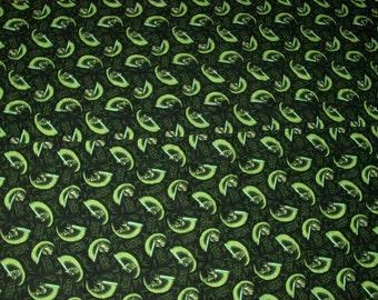 18X22 YODA Cotton Fabric Star Wars Rare Fat Quarter
