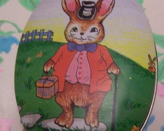 tiny rabbit tin box