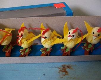 paper honeycomb chicks