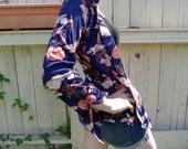 Vintage BonHomme Psych Paisley Design Long Sleeve Shirt