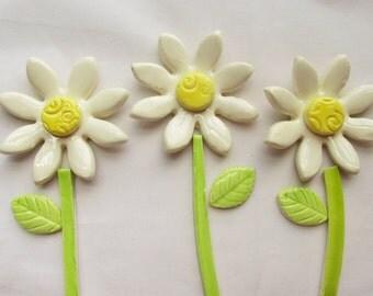 Ceramic mosaic tiles-Daisy flowers- Sunflower tiles flowers