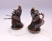Steampunk Minotaur Horns by Marie Segal
