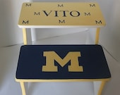 Custom Michigan Your way Step Stool for Kids  Bathroom Stool Steps and Stools KIDS Furniture