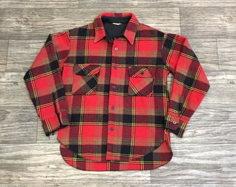 60's Flannel Button Up Shirt