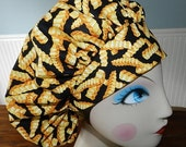 You want Frys with that   Banded Bouffant Surgical Cap by Nurseheadwear