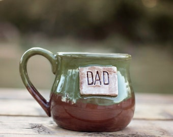 Custom Coffee Mugs | Soup Mug | Large Coffee Mug | Personalized Coffee Mugs | Gifts for Dad | Coffee Cup | Pottery | Father's Day Gift Ideas