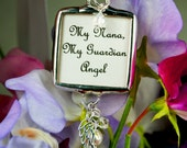 Custom Wedding Bouquet Bridal Bouquet Photo Charm Angel Wing Charm