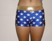 Wonder woman spandex shorts