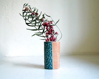 Lil' Ceramic Bud Vase