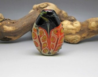 Windows - Lampwork Focal Bead