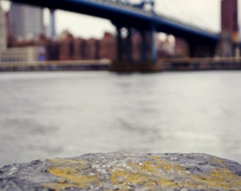 Manhattan Bridge from a Distance, New York City Photography Print, NYC Wall Art