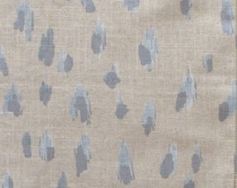 Custom order 53 yards shipping to be paid and arranged by buyer ASHER swedish blue home decor multipurpose fabric