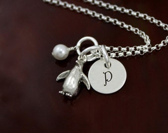 My Petite Penguin Necklace - Sterling Silver