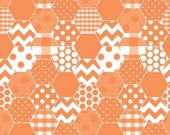 Taking orders now soon coming Riley Blake Hexi- 100% Cotton Fabric