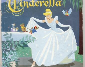 Cinderella Disney Whitman book 1950 children