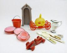 Plastic Miniature Toys, Vintage