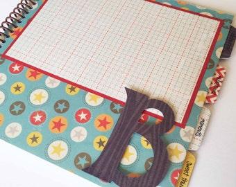 Baby Memory Book * Birthday Photo Book * Boy Baby Book * Spunk & Love Modern Baby Book * COOPER Design