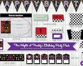 Five Nights at Freddy Inspired Printable Party Pack - HUGE BUNDLE, Birthday Party Decorations, DIY Party (unofficial)