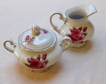 Creamer and Sugar Bowl by Hutschenreuther