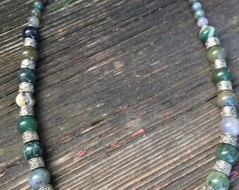 Semi Precious Jasper Stone Necklace
