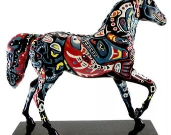 Spirit of the Northwest, The Trail of ghe Painted Ponies Series,by Artist Laurel Holman, Limited Edition