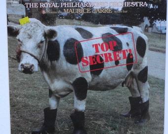 """Sealed """"Top Secret"""" Vinyl Soundtrack (1984)"""