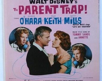 "Rare ""The Parent Trap"" Vinyl Soundtrack (1961) - Very Good Condition"