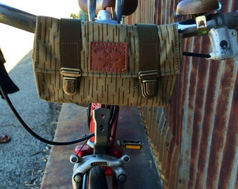 Vintage East German Bike and Belt Pouch