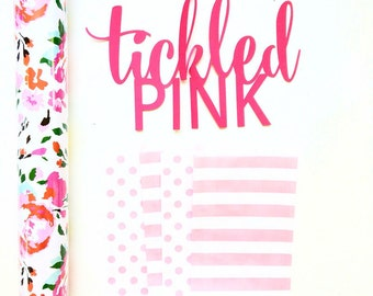 Pink Polkadot & Pink Striped Kraft Paper Bags 5x7.5 set of 25