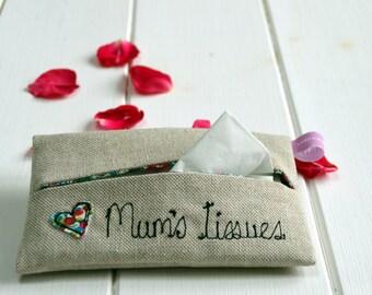 Tissue Holder - Gift For Her - New Mum Gift - New Mom Gift - Stocking Filler - Baby Shower Gift - Wedding Keepsake - Bride's Mother