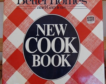 Vintage Better Homes & Gardens New Cookbook Copyright 1981 First Casebound Edition Sixth Print 1986   CB332