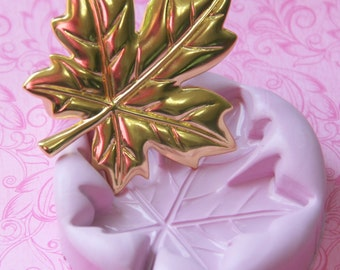 Silicone Maple Leaf Mold Autumn Leaf Mold Butter Mould Resin Clay Fondant Wax Soap