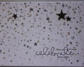 Unisex Birthday card, Graduation card, New Job congrats-Shooting Stars