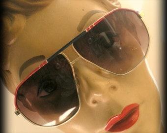 Never Worn 1980's Wire-rim Sunglasses