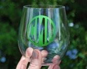 Personalized Stemless Wine Glass - ACRYLIC