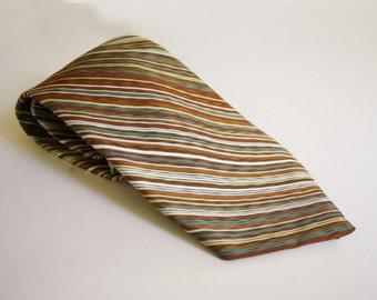 Vintage JC Penney Striped Tie