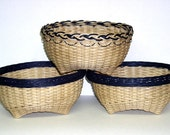 Digital Download,  Instructions to Weave the Cathead Basket - Rimmed Your Way, Pattern