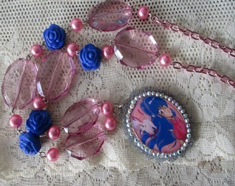 Ranma 1/2 Necklace - SHAMPOO - Anime necklace