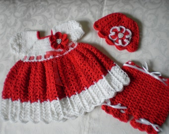 Joy  Christmas 3 Piece Dress Set