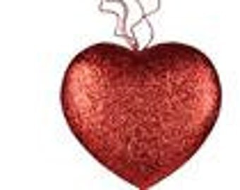 22 Inch Red Heart With Hearts HV908524, Valentine Heart, Valentine Decor, Wreath Decor