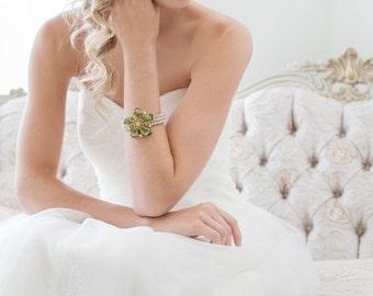 Wedding Cuff, Bridal Bracelet, Bridal Cuff, Wedding Jewelry, Bridesmaid Gift, Wedding Accessories