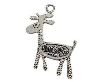 Reindeer Ornament - Blitzen