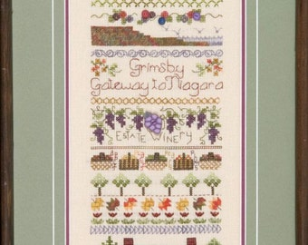 Grimsby Sampler - Designed by Jeannette Douglas Designs - Cross Stitch Kit of Thread Pack and Chart