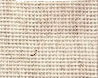 GT 207 - Aida Fiddlers Cloth, 14 Count, Oatmeal, 16.5 X 13 Inches, 42 X 33cm, Cut Fabric Collection