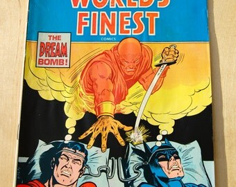 DC bronze age comic book. Worlds Finest. Superman. Vol 35 # 232 September 1975